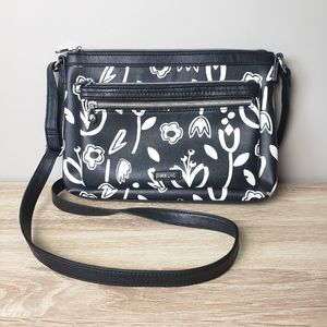RELIC by Fossil Crossbody Floral Patterned Purse